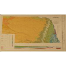Geologic Bedrock Map of Nebraska (color) (GMC-1)