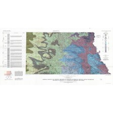 Bedrock Geologic Map Showing Thickness of Overlying Quaternary Deposits, Lincoln Quadrangle and Part of Nebraska City Quadrangle, Nebraska and Kansas