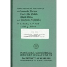 Correlation of the Formations of the Laramie Range, Hartville Uplift, Black Hills, and Western Nebraska (GSB-13)
