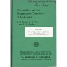 Correlation of the Pleistocene Deposits of Nebraska (GSB-15)