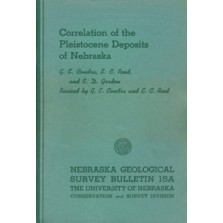 Correlation of the Pleistocene Deposits of Nebraska (GSB-15a)