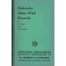 Nebraska Deep Well Records (GSB-17)
