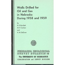 Wells Drilled for Oil and Gas in Nebraska During 1958 and 1959 (GSB-19)