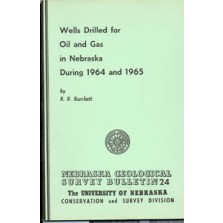 Wells Drilled for Oil and Gas in Nebraska During 1964 and 1965 (GSB-24)
