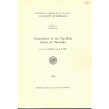 Correlation of the Big Blue Series in Nebraska (GSB-6)