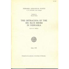 Ostracoda of the Big Blue Series in Nebraska (GSB-8)