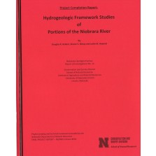 Hydrogeologic Framework Studies of Portions of the Niobrara River