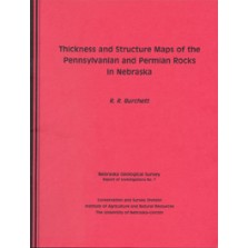 Thickness and Structure Maps of the Pennsylvanian and Permian Rocks Across Southern Nebraska (GSI-7)