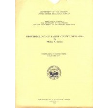 Geohydrology of Saline County, Nebraska (HA-216)