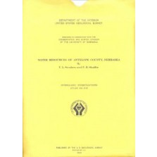 Water Resources of Antelope County, Nebraska (HA-316)