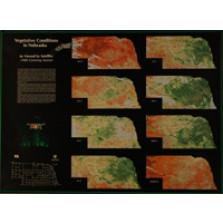 Vegetative Conditions in Nebraska, As Viewed by Satellite, 1988 Growing Season (LUM-30)
