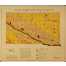 Land Use in Dawson County, Nebraska, Summer 1973 (LUM-4)