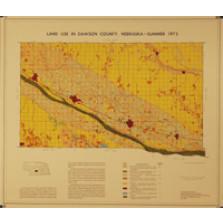 Land Use in Dawson County, Nebraska, Summer 1973 (LUM-4)