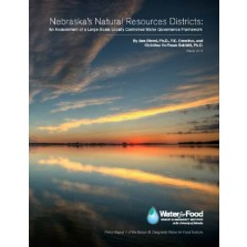 Nebraska's Natural Resources Districts: An Assessment of a Large-Scale Locally Controlled Water Governance Framework (MP-114)