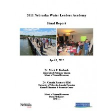 2011 Nebraska Water Leaders Academy Final Report (OFR-111)