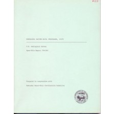 Nebraska Water-Data Programs, 1979 (OFR-79-1341)