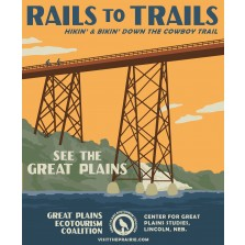 Rails to Trails Poster