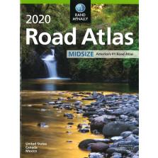 Rand McNally 2020 Road Atlas Mid Size (RMc-17)