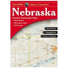 DeLorme Atlas & Gazateer Nebraska (RMc-3)