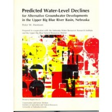 Predicted Water-Level Declines for Alternative Groundwater Developments in the Upper Big Blue River Basin, Nebraska (RR-6)