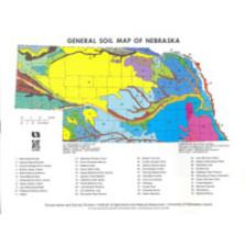 Generalized Soil Map of Nebraska (SM-1)