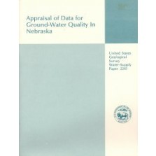 Appraisal of the Data for Ground-Water Quality in Nebraska