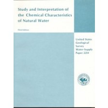 Study and Interpretation of the Chemical Characteristics of Natural Water