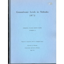 Groundwater Levels in Nebraska, 1973