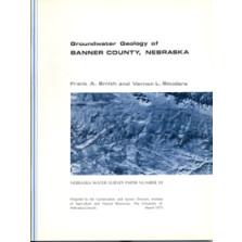 Groundwater Geology of Banner County, Nebraska