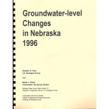 Groundwater-level Changes in Nebraska, 1996