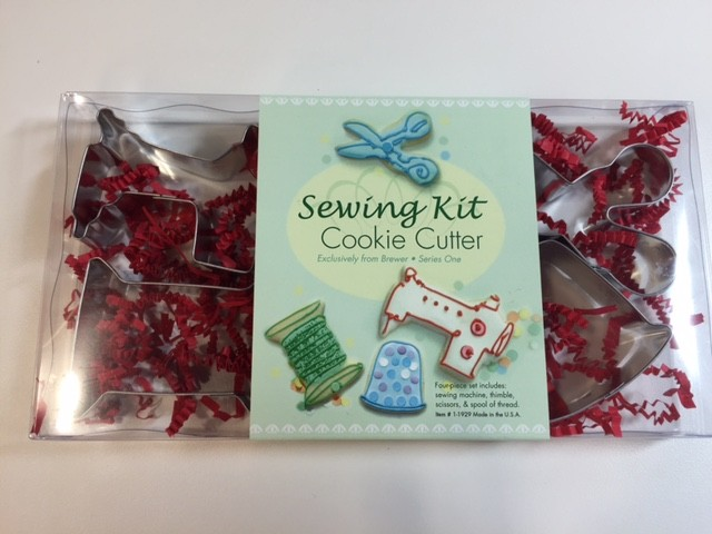 Cookie Cutters with a Sewing Theme