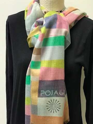 Exclusive IQM Pojagi Scarf
