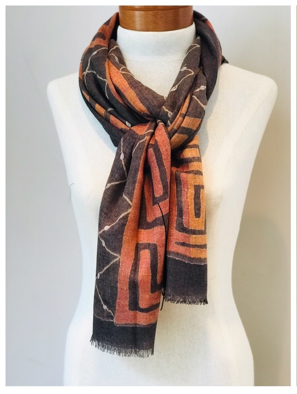 Scarf 0001 from our Kente to Kuba Exhibit
