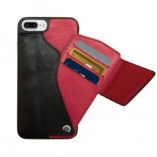 iPhone Black Leather Cover