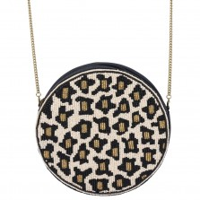 Leopard Round About Bag