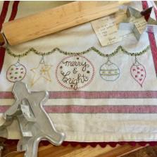 Dishtowel Kit - Merry and Bright
