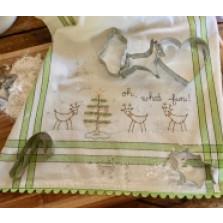 Dishtowel Kit - Reindeer