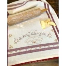 Dishtowel Kit -Sweet As Pie