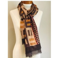 Scarf 0005 from our Kente to Kuba Exhibit