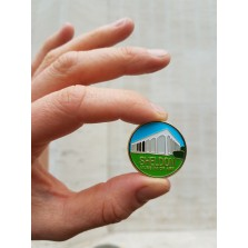 Sheldon Museum of Art pin