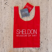 Sheldon Museum of Art RED nylon bag
