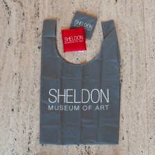 Sheldon Museum of Art GREY nylon bag