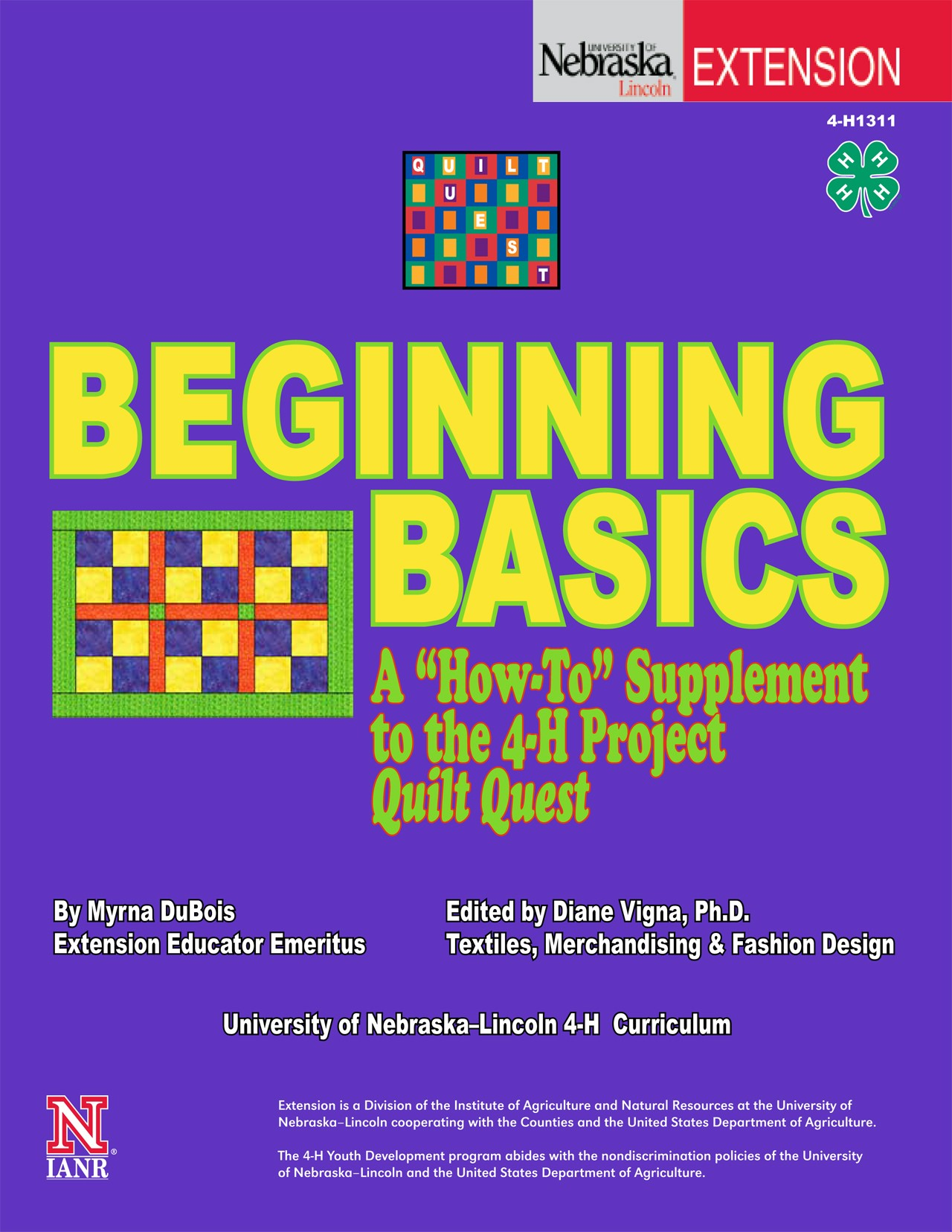 Quilt Quest Project: Beginning Basics