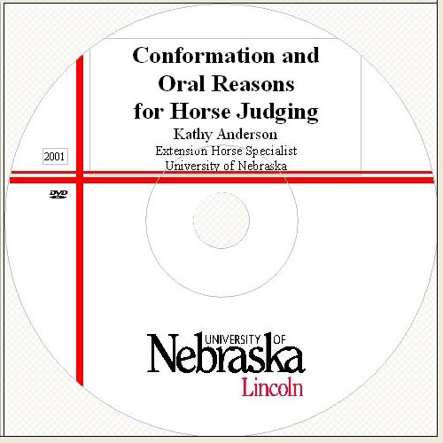 Conformation Oral Reasons For Horse Judging Dvd 4 H Youth
