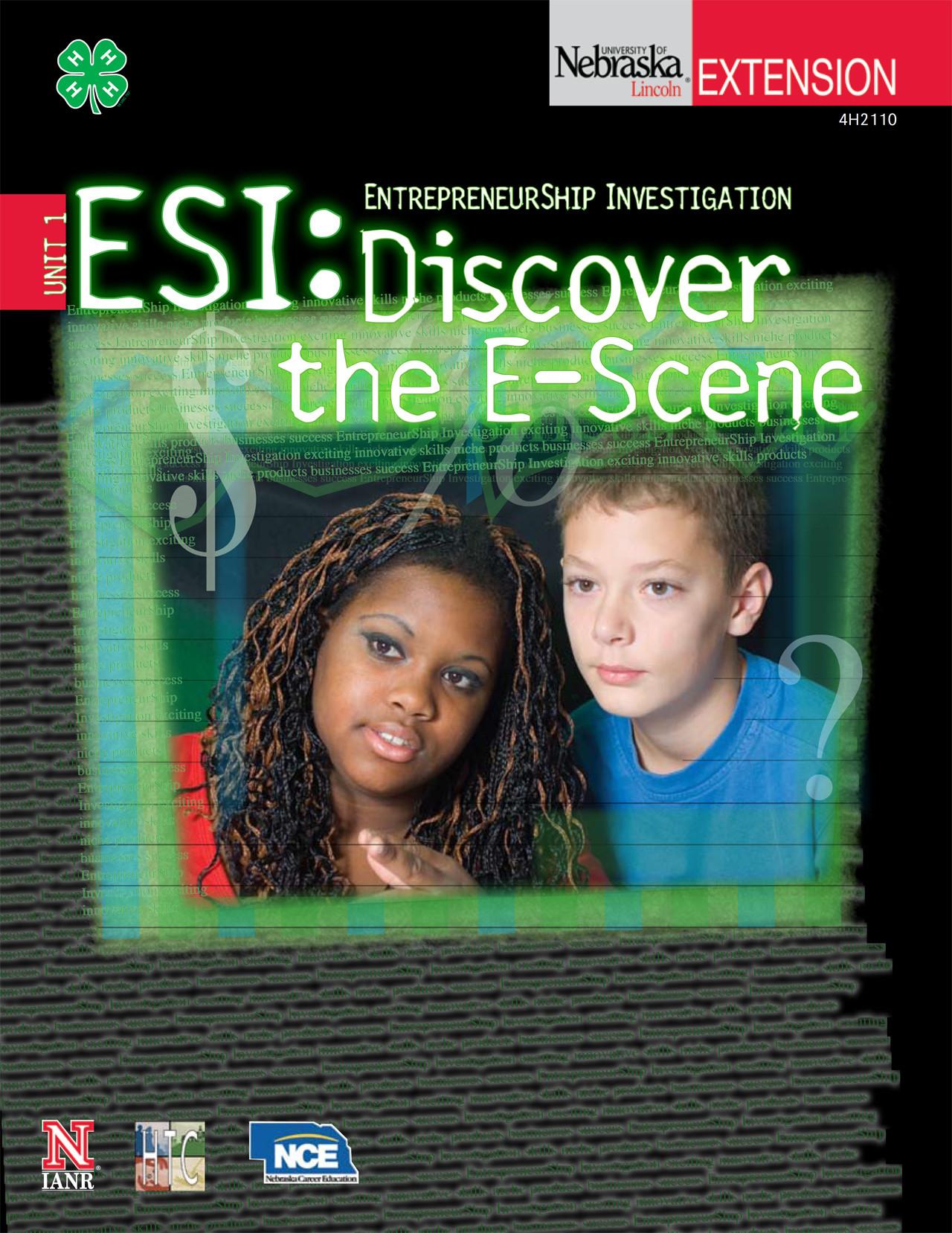 EntrepreneurShip Investigation 1: Discover the E-Scene