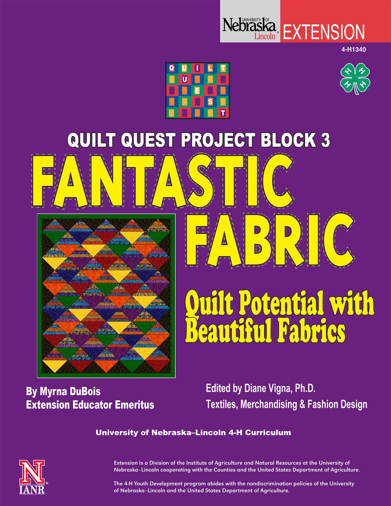 Quilt Quest Project Block 3: Fantastic Fabrics