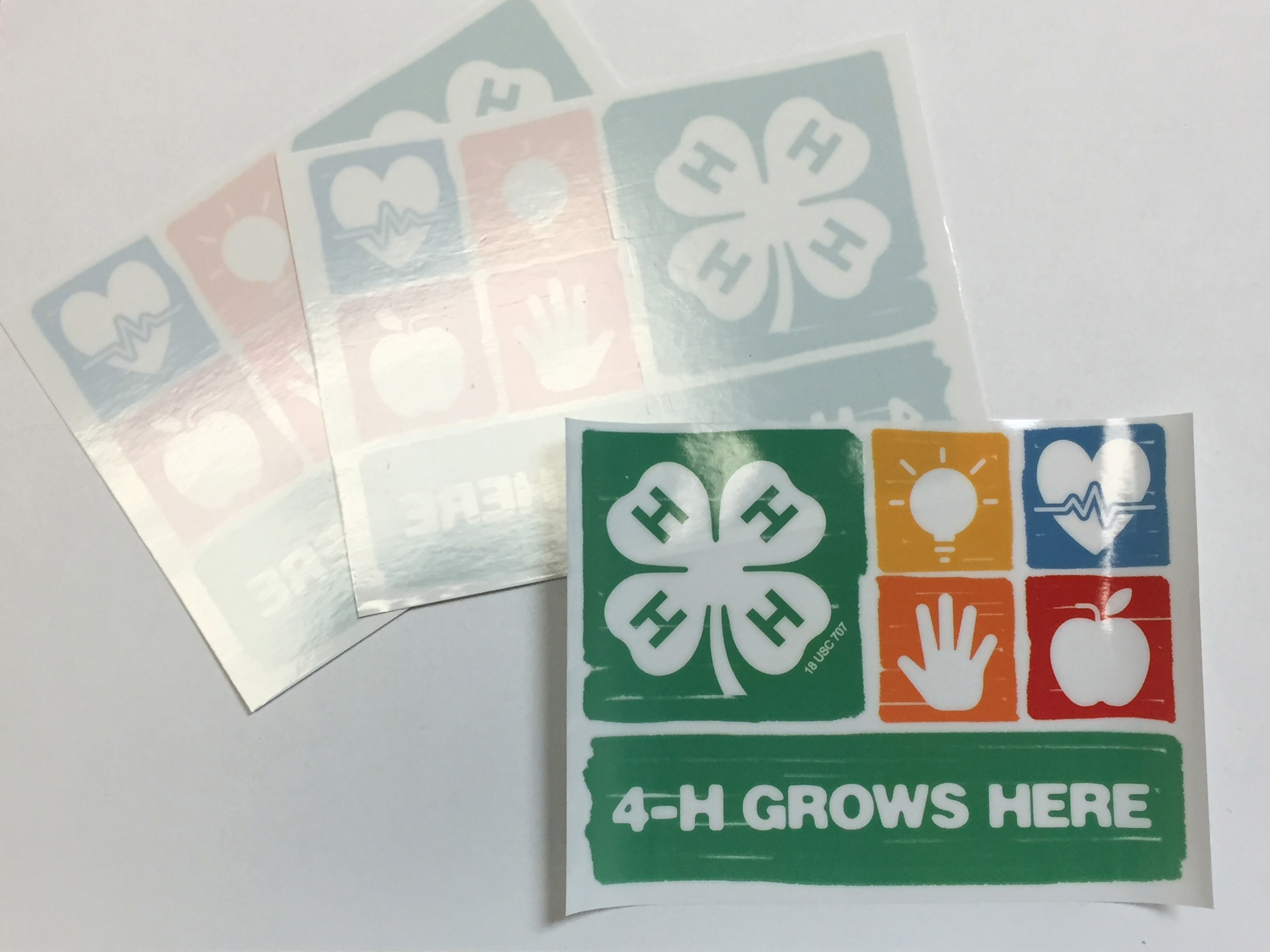 Nebraska 4-H Window Cling