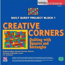 Quilt Quest Project Block 1: Creative Corners