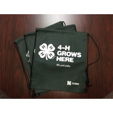 4-H Grows Here Drawstring Bags