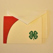 UNL Extension 4-H Notecards (100pk)